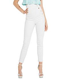 GUESS Gwen Super-High Rise Corset Jeans