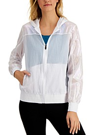 Iridescent Hooded Jacket, Created for Macy's