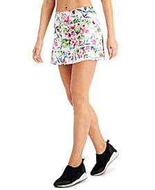 Printed Pleated Skort, Created for Macy's