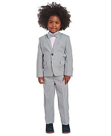 Toddler Boys 4-Pc. Railroad Stripe Suit Set
