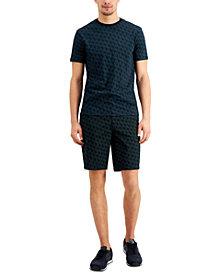 Armani Exchange Men's Monogram T-Shirt & Shorts