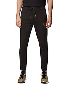 BOSS Men's Halboa Circle Regular-Fit Jogging Pants