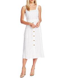 Vince Camuto Linen A-Line Dress