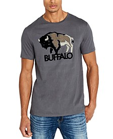 Men's Tapuff Flocked Logo T-Shirt