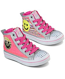 Little Girls' Flip Kicks: Twi-Lites 2.0 - Sequin Society High Top Casual Sneakers from Finish Line