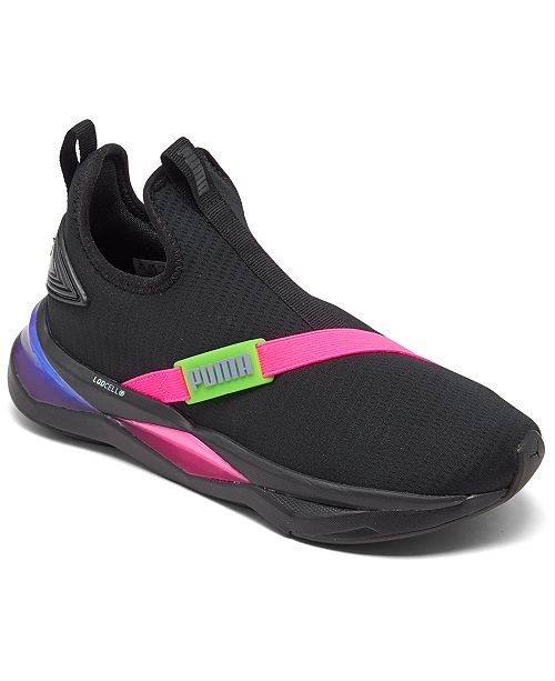 Puma Women's LQDCELL Shatter Mid Multi Casual Sneakers from ...