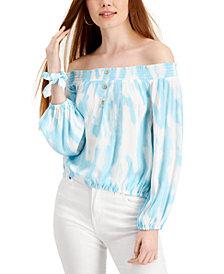 Vanilla Star Juniors' Tie-Dyed Scrunchie & Top