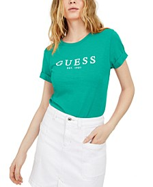 Eco Cuffed Logo T-Shirt
