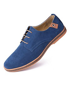 Men's Classic Suede Derby Oxford Shoes