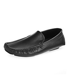 Men's Threaded Leather Loafers