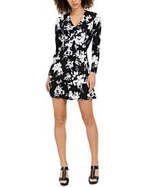 Floral-Print Dress, Regular & Petite
