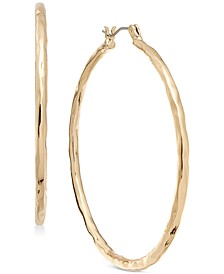 "Medium Hammered Hoop Earrings, 2"", Created for Macy's"