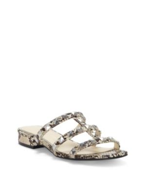 Jessica Simpson Caira Studded Flat Sandals Women s Shoes E569