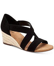 Zaddie Wedge Sandals, Created for Macy's