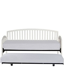 Carolina Daybed with Suspension Deck and Roll Out Trundle Unit, Twin