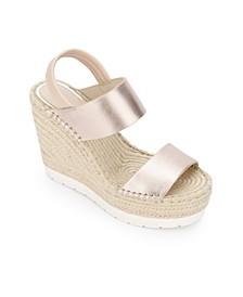 Olivia Simple Wedges Sandal