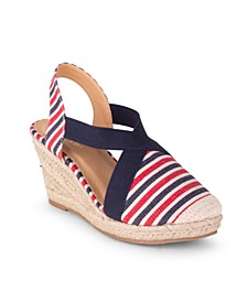 Essex Women's Closed Toe Wedge Sandal