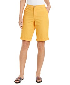 Cuffed Bermuda Shorts, Created for Macy's
