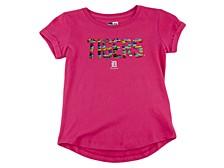 Detroit Tigers Youth Girls Flip Sequin T-Shirt