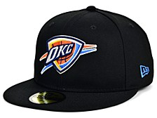 Oklahoma City Thunder Men's All Around Fitted Cap