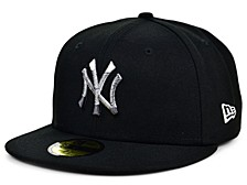 New York Yankees Men's Faded Fitted Cap