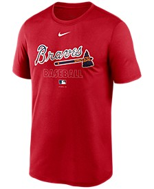 Atlanta Braves Men's Authentic Collection Legend Practice T-Shirt