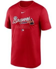 Atlanta Braves Men's Authentic Collection Legend Practice T-Shirt