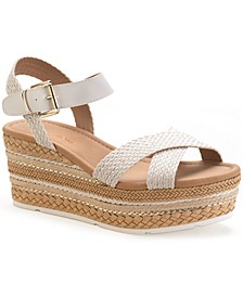 Callie Wedge Sandals, Created for Macy's
