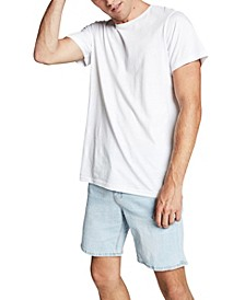 Men's Straight Stretch Denim Shorts