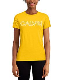 Calvin Klein Performance Outline-Logo T-Shirt