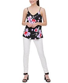 Calvin Klein Floral-Print Camisole