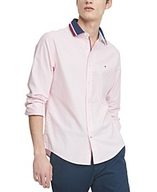 Men's Custom-Fit Stretch Mayer Oxford Shirt