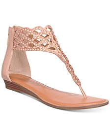 Ilene Glitzy Thong Flat Sandals, Created for Macy's