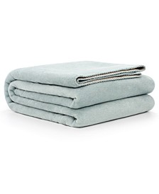 Cotton Blend Double Sided Reversible Throw Blanket