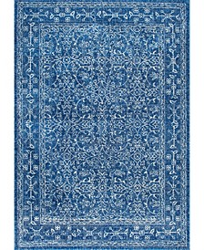 Bodrum Vintage-Inspired Waddell Navy 2' x 3' Area Rug