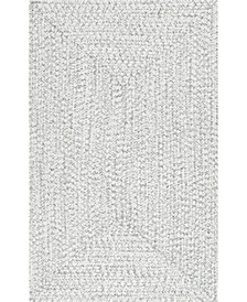 Festival Braided Lefebvre Ivory 2' x 3' Area Rug