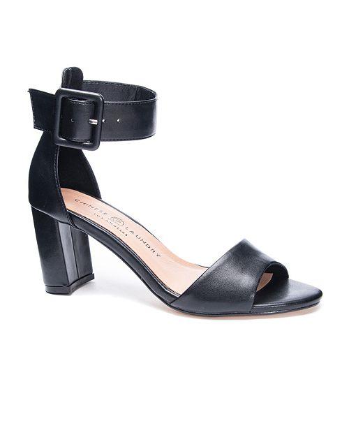Chinese Laundry Rumor Block Heel Dress Sandals