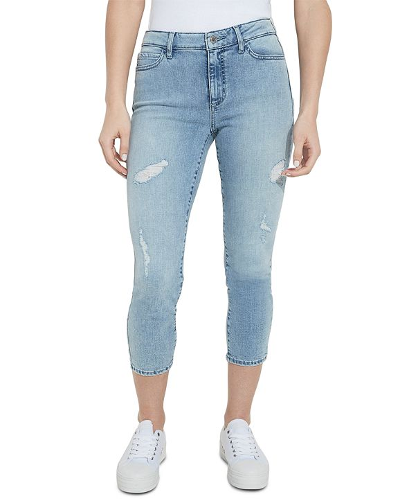 GUESS ECO 1981 Cropped High-Rise Skinny Jeans