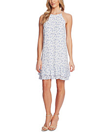 CeCe Tiered Printed Dress