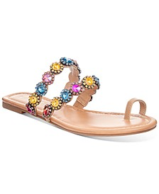 Joya Toe-Ring Flat Sandals, Created for Macy's