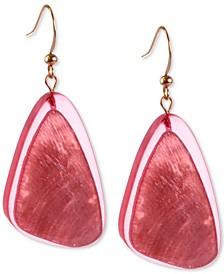 Resin Drop Earrings, Created for Macy's