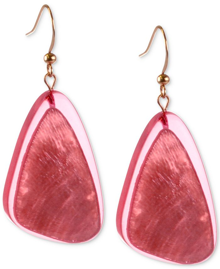 Style & Co - Resin Drop Earrings