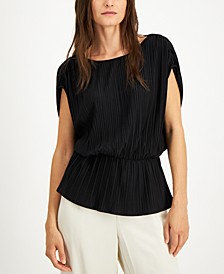 Petite Peplum Top, Created for Macy's
