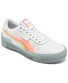 Women's Cali Neon Iced Casual Sneakers from Finish Line