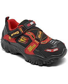 Little Boys' Hot Lights: Damager III - Fire Stopper Light-Up Casual Sneakers from Finish Line
