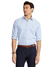 Men's Classic Fit Long-Sleeve Oxford Shirt