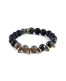 Truth or Dare Agate Stretch Bracelet