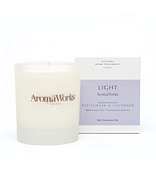 Light Range Petitgrain and Lavender Candle, 7.75 oz