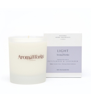 Light Range Petitgrain and Lavender Candle