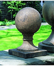 Small Sphere Square Base Statuary